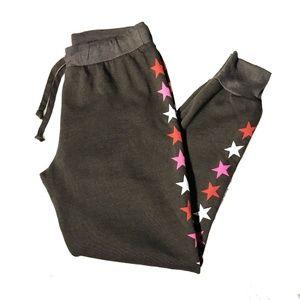 Wildfox Fallen Star Brown Sweatpants